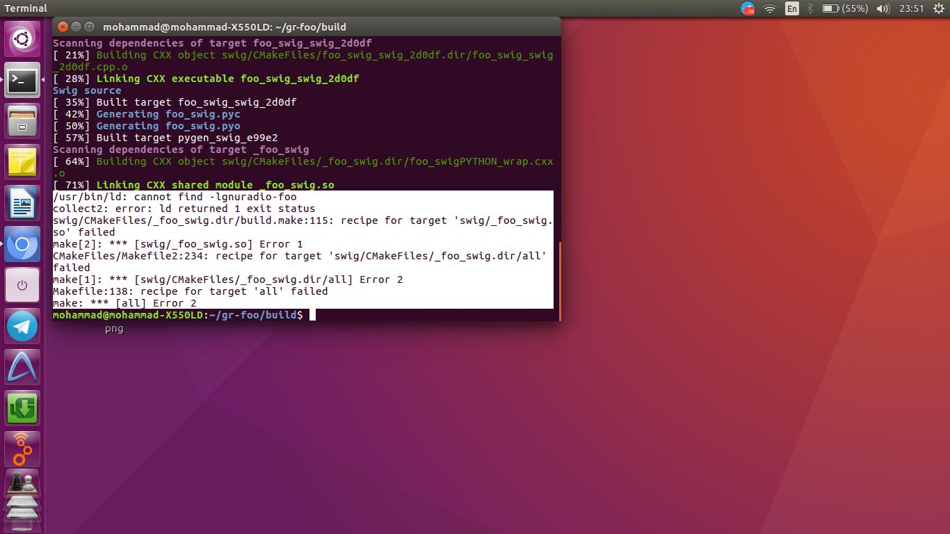 issue installing gr-foo · Issue #7 · bastibl/gr-foo · GitHub