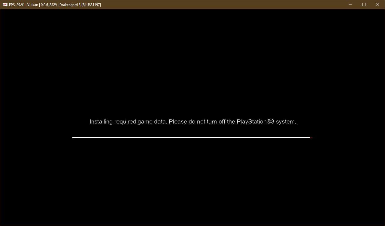 Regression: Drakengard 3 [BLUS31197] installation fails · Issue