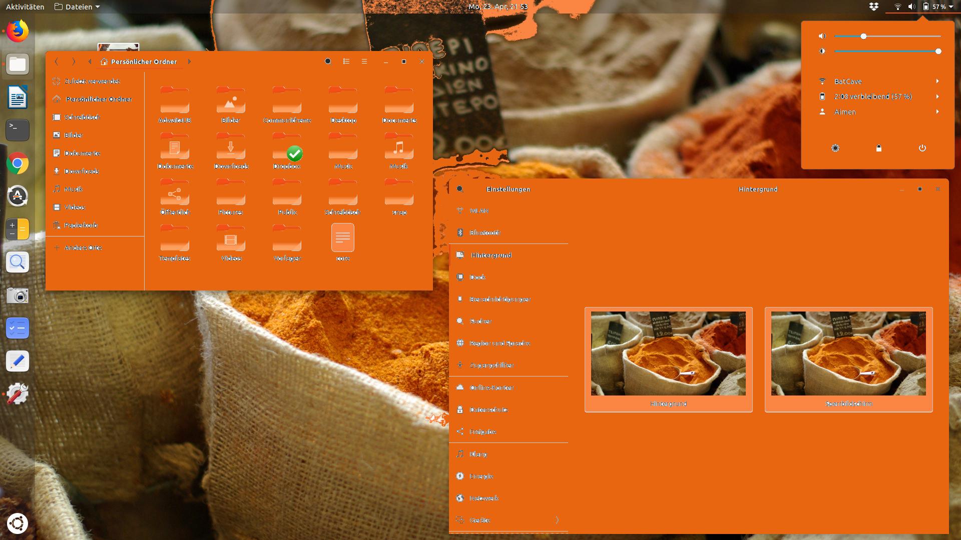 Reducing the orange - making orange more elegant · Issue