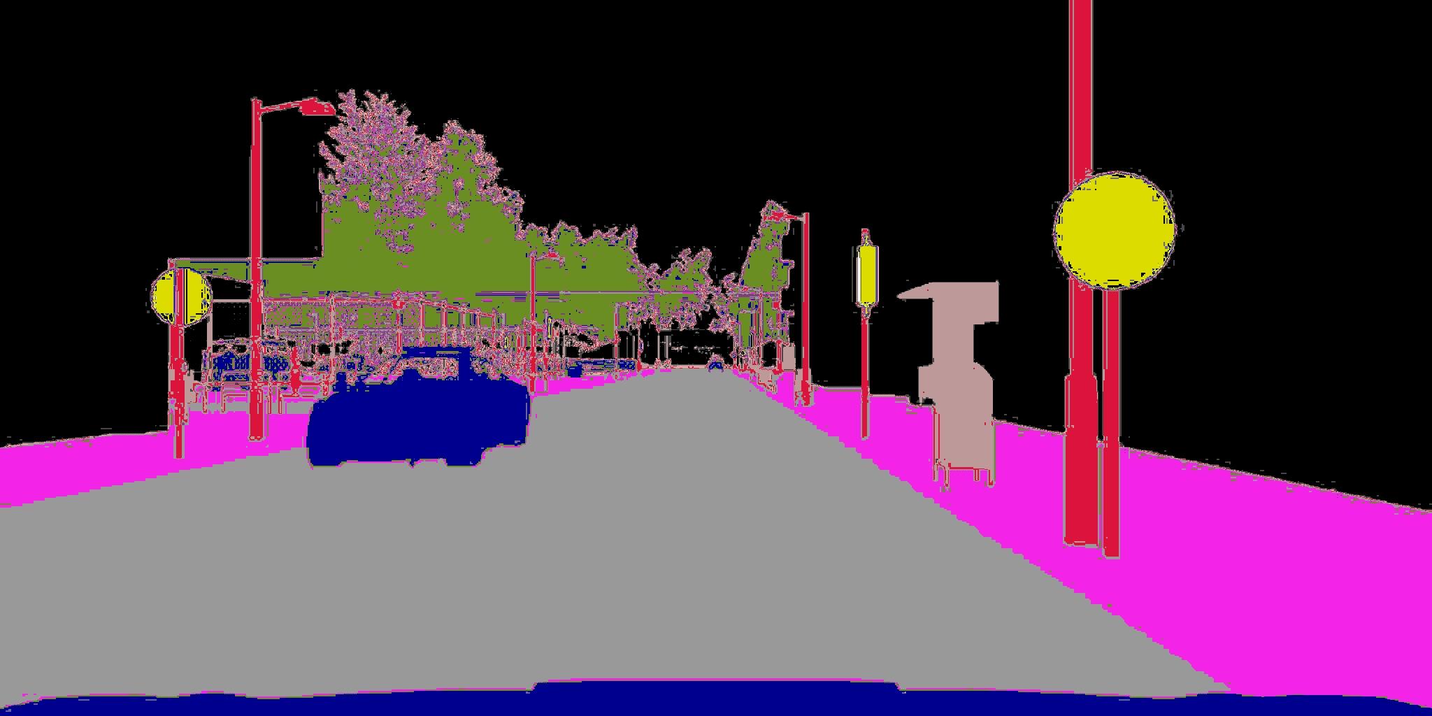 weird Segmentation picture · Issue #900 · carla-simulator