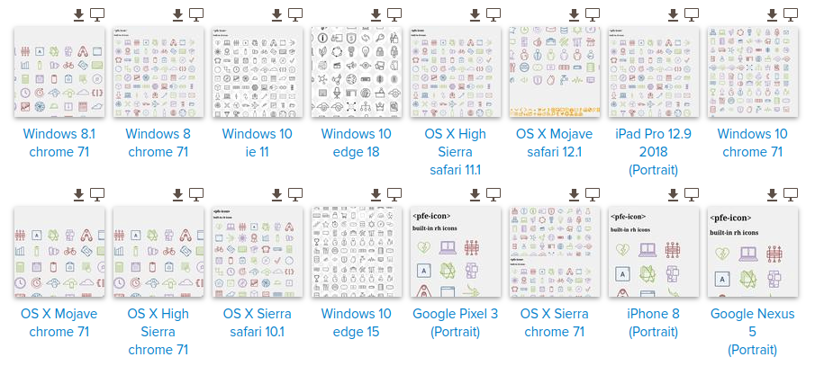 browser support thumbnails