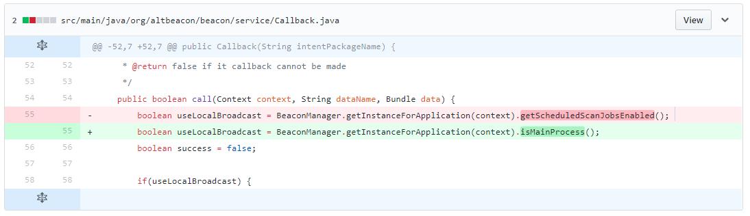 Not allowed to start service Intent : BeaconIntentProcessor
