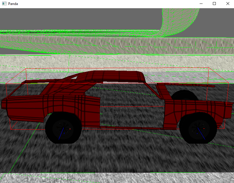 BulletVehicle wheels not rendered in sync with chassis