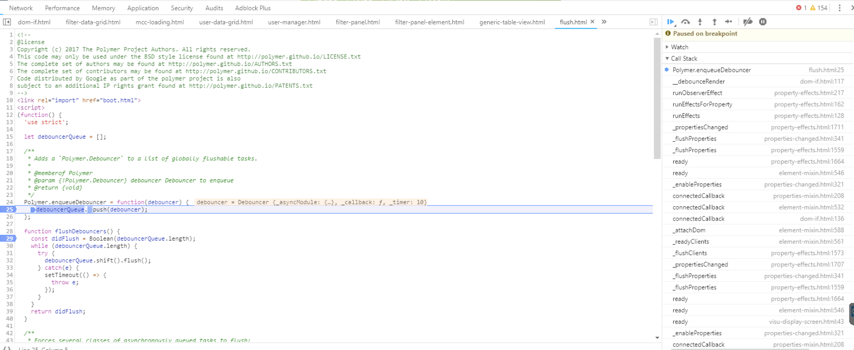 dom-if memory leak · Issue #5250 · Polymer/polymer · GitHub