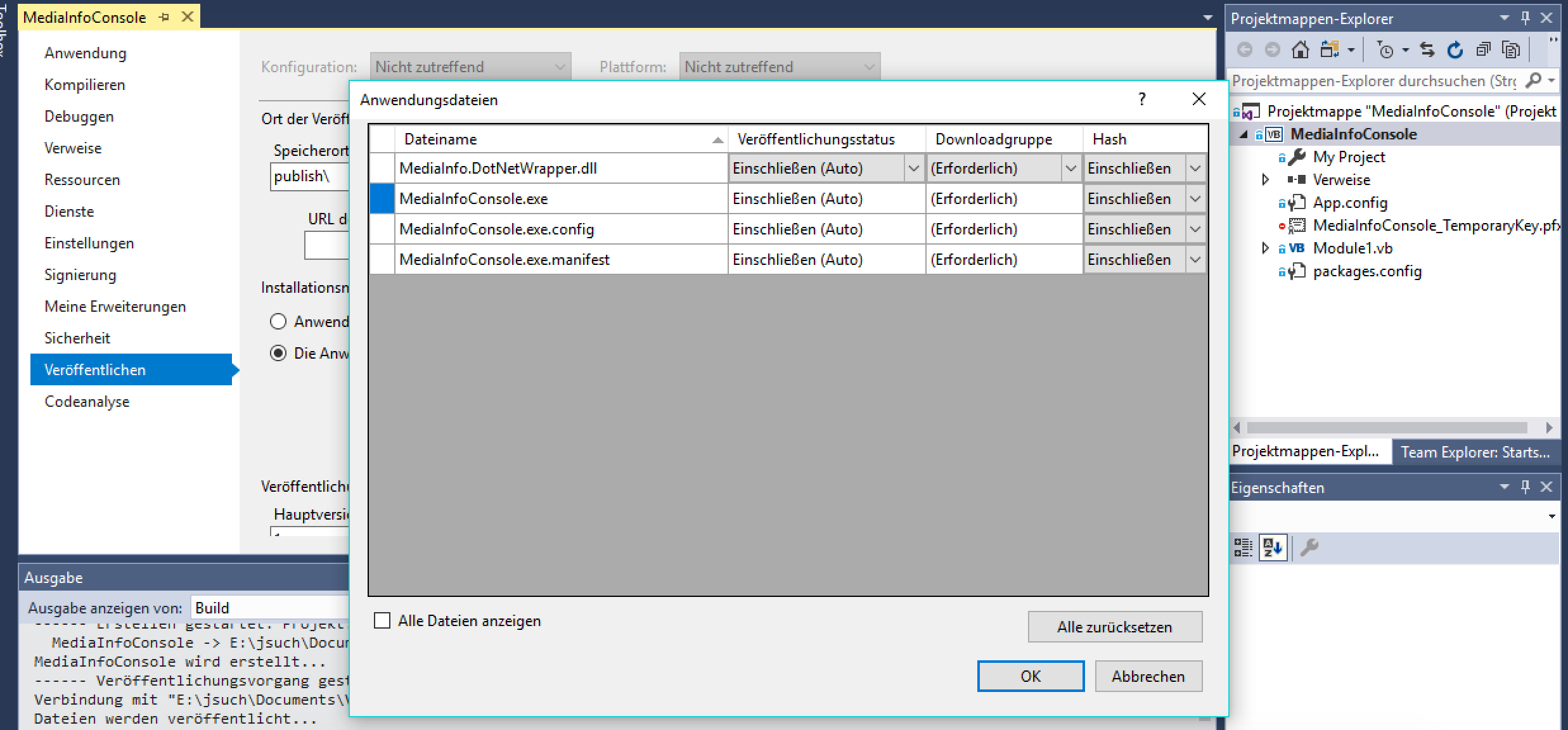 Using NuGet Package with ClickOnce Deployment · Issue #9