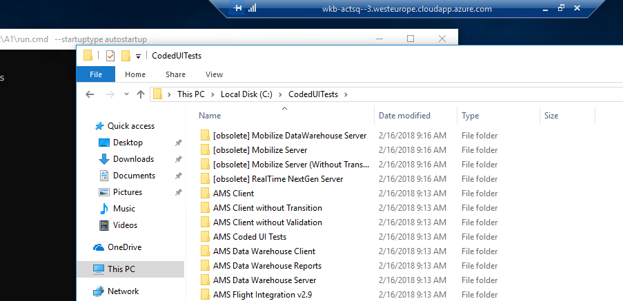 vstest task cannot search for test assemblies outside of