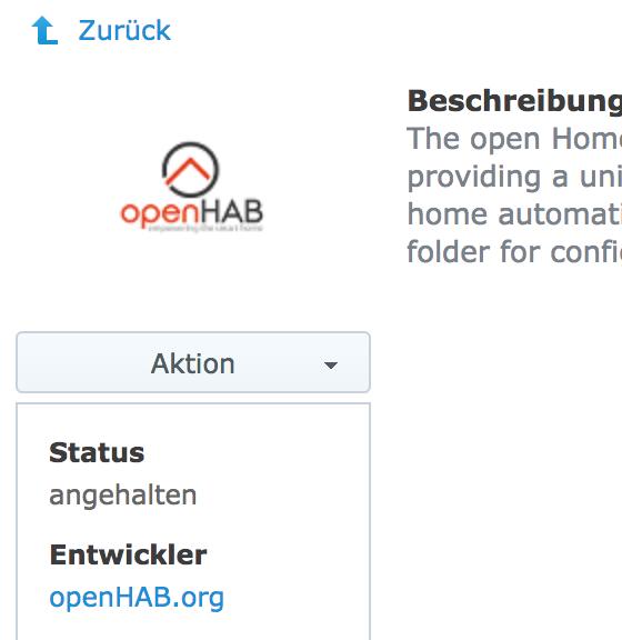 Package won't start · Issue #127 · openhab/openhab-syno-spk · GitHub