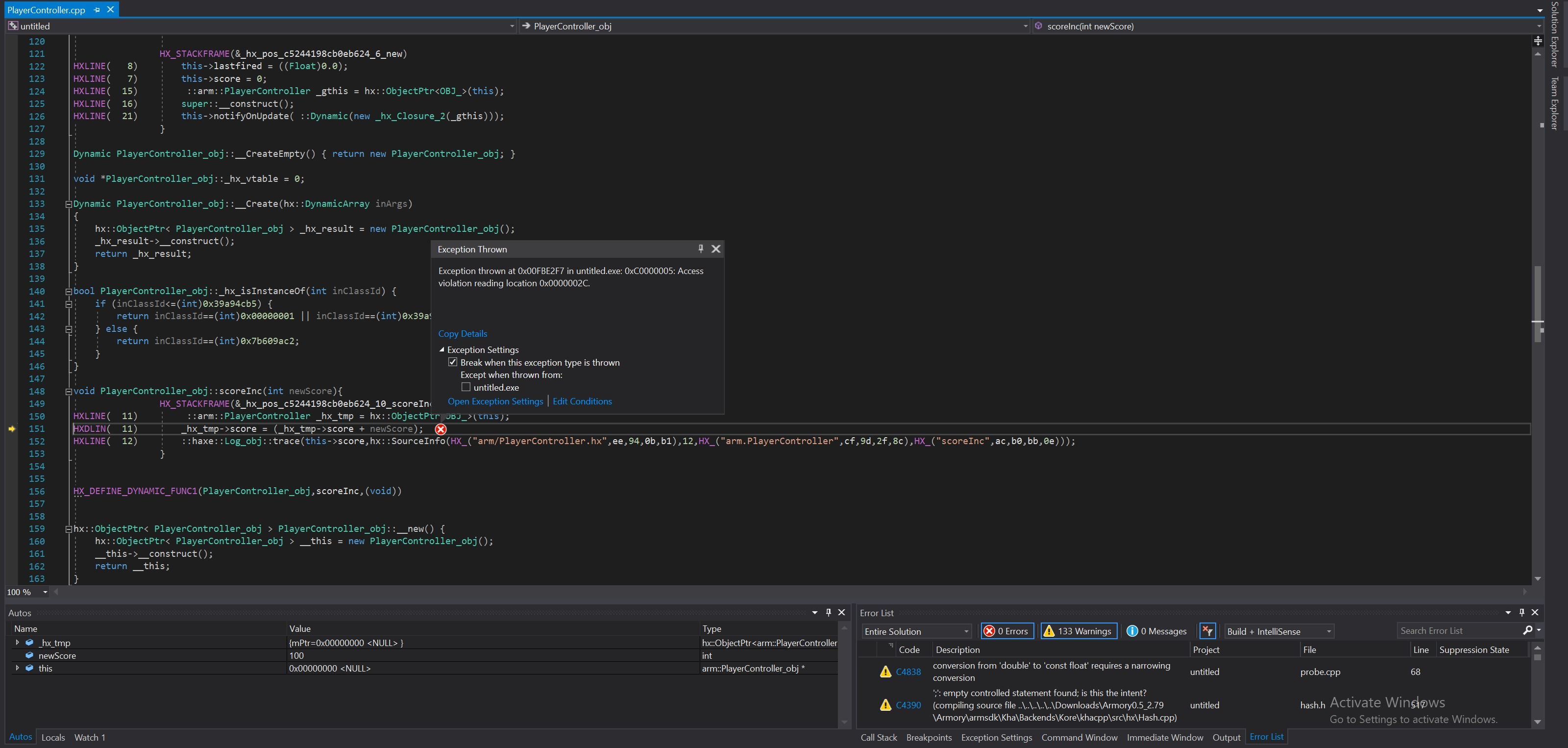 Game Freezes · Issue #952 · armory3d/armory · GitHub