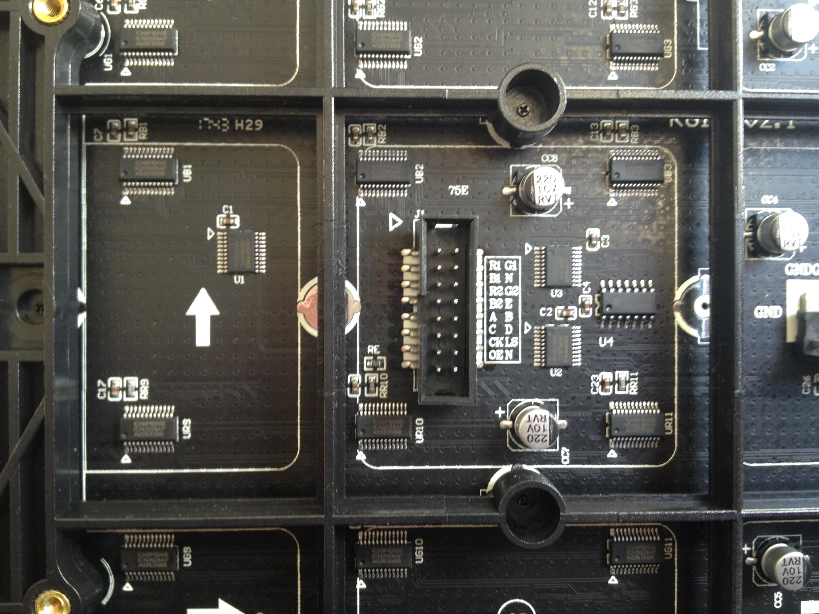 Panel P2 5 128x64 1/32 Hub75E · Issue #521 · hzeller/rpi-rgb