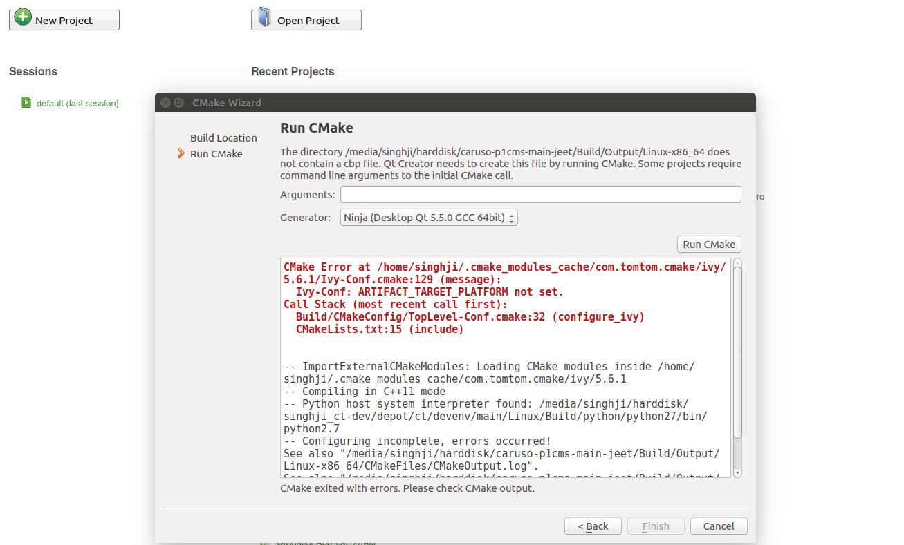 cmake-import-error