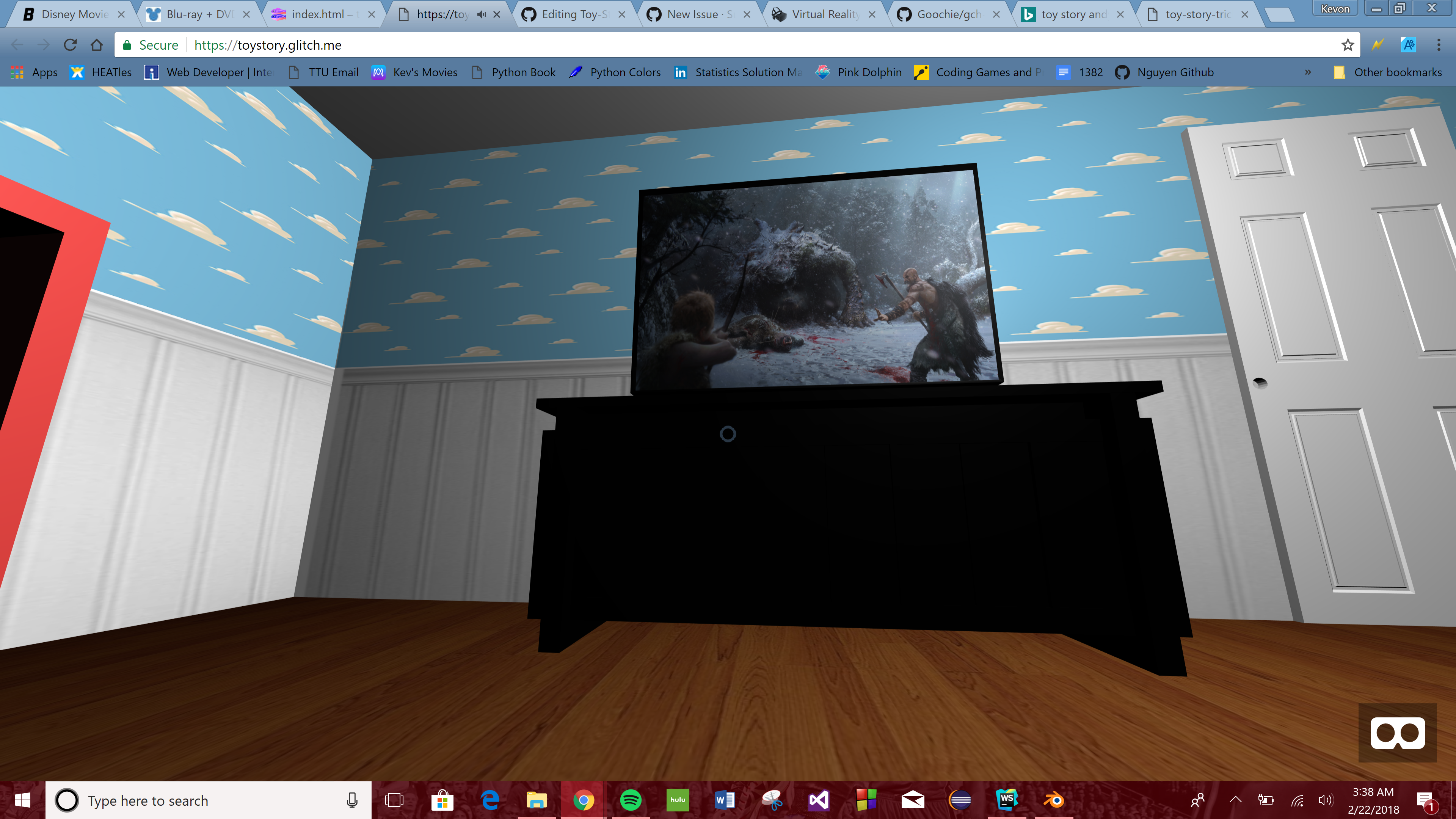 GitHub - SuperDuperKev/Toy-Story: VR model of Andy's Room