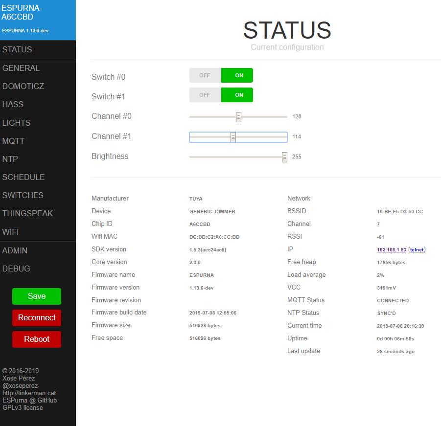 Firmware for Tuya dimmer · Issue #1729 · xoseperez/espurna · GitHub