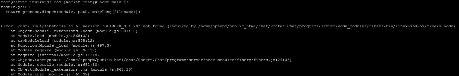 node module sharp fails install on CentOS 6 · Issue #9943