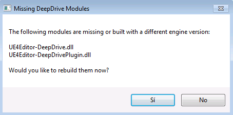 Error : Incompatible or missing module · Issue #14 · deepdrive