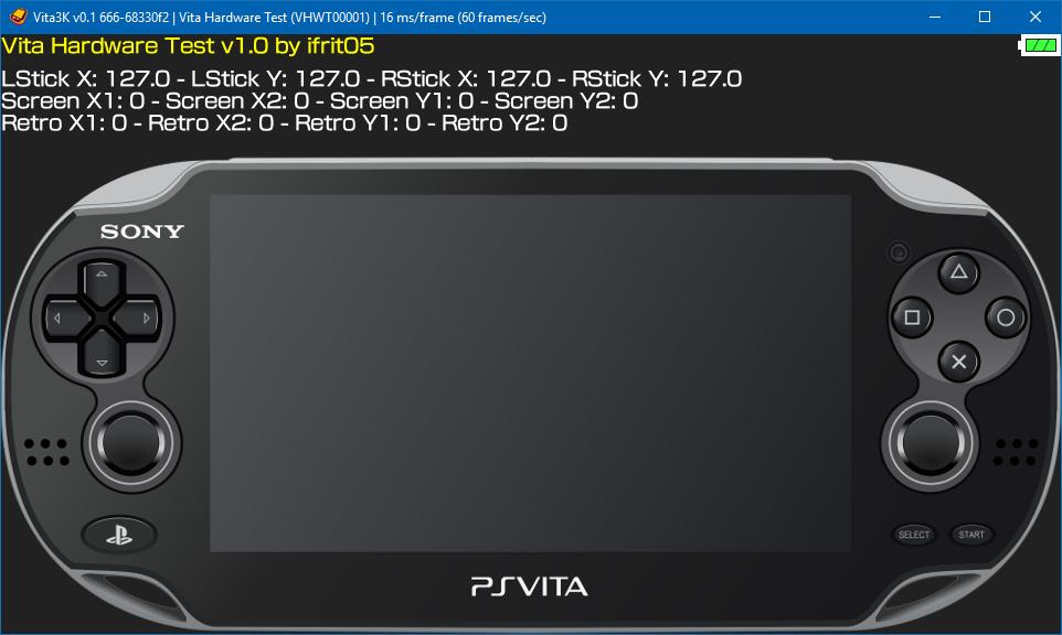 Vita Hardware Test · Issue #138 · Vita3K/homebrew