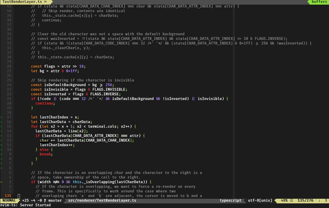 Support font ligatures · Issue #958 · xtermjs/xterm js · GitHub