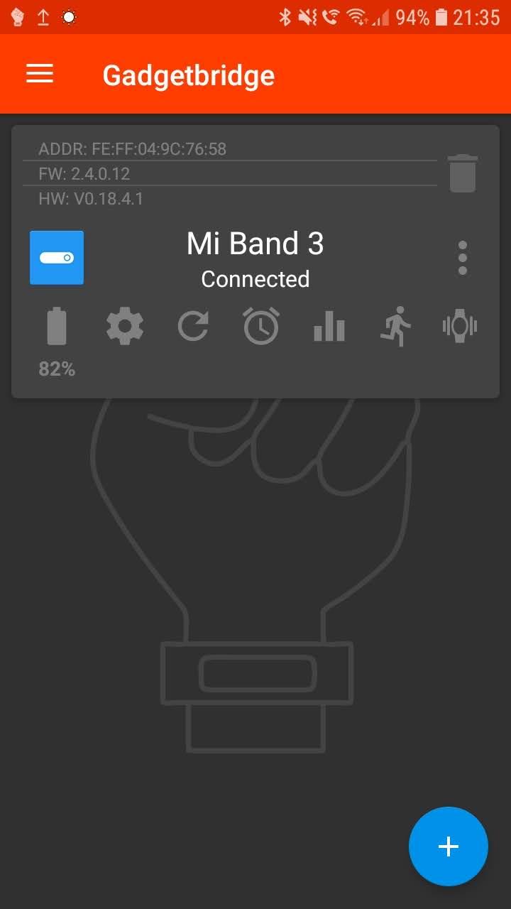 MiBand3 Please whitelist firmware 2 4 0 12 · Issue #1530