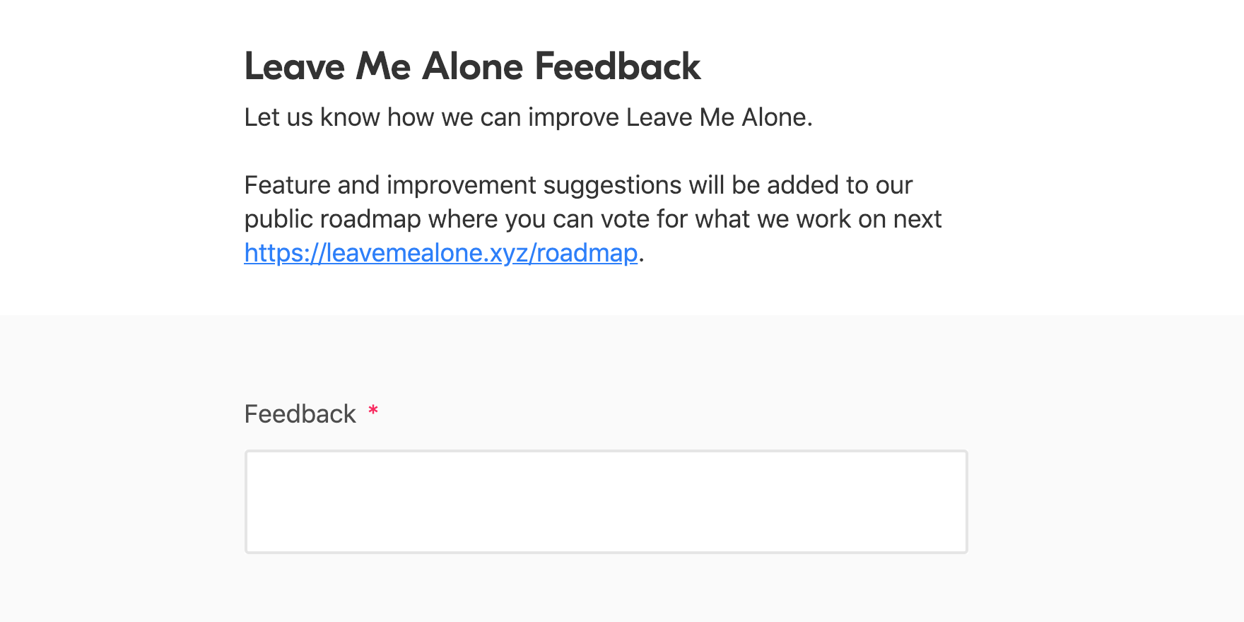 leave_me_alone_feedback