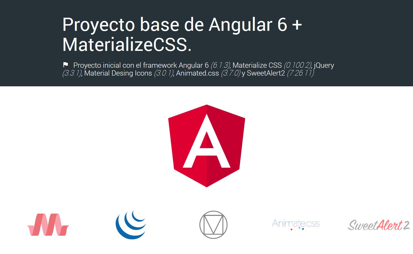GitHub - dalejodc/angular7-materializecss: 🚀 Initial