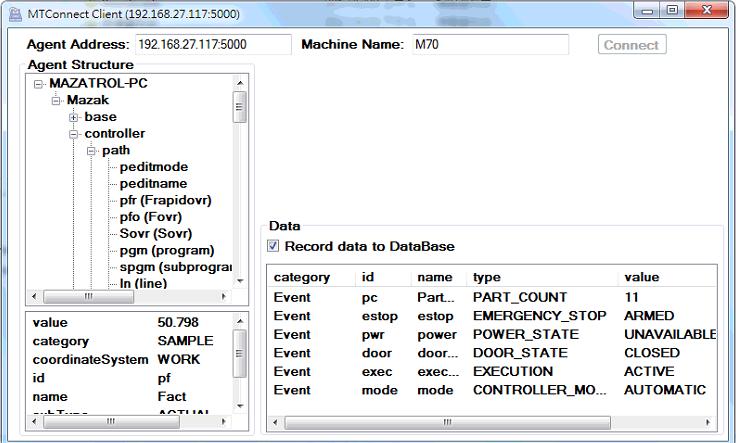 Why Mazak CNC machine Power_State value unavailable