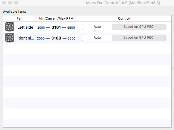 Max RPM differes in macOS and Windows · Issue #40
