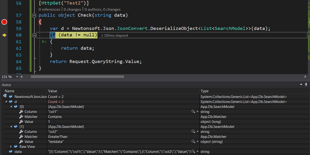 Model is not binding with the values in WEB API GET method when data
