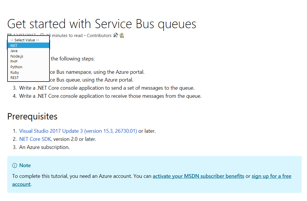 Update Client Libraries list · Issue #9658 · MicrosoftDocs/azure
