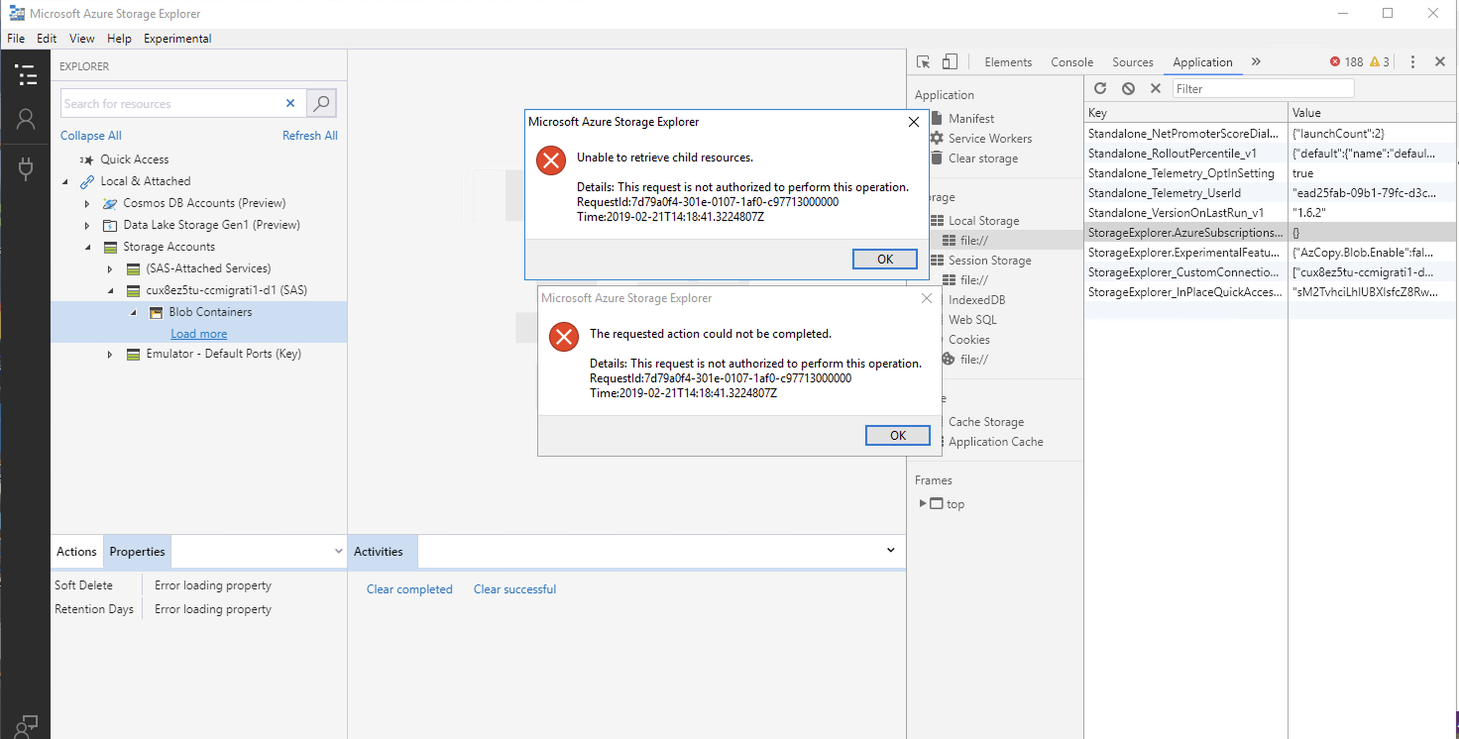 Unable to retrieve child resources · Issue #1152 · microsoft