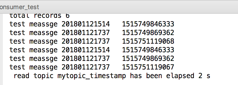 kafka timestamp function can't be used · Issue #764