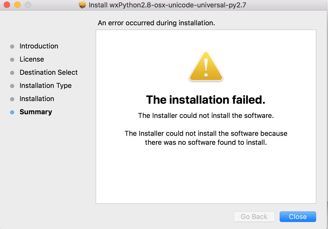 wxPython 2 8 problem installation on mac os x · Issue #943