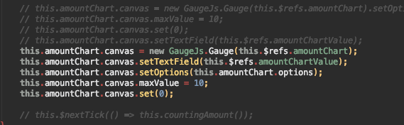 Gauge isn't correctly rendered when first value is 0 · Issue