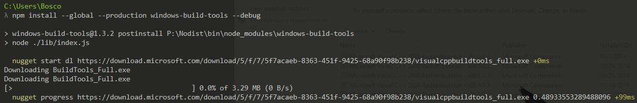 windows-build-tools - Bountysource