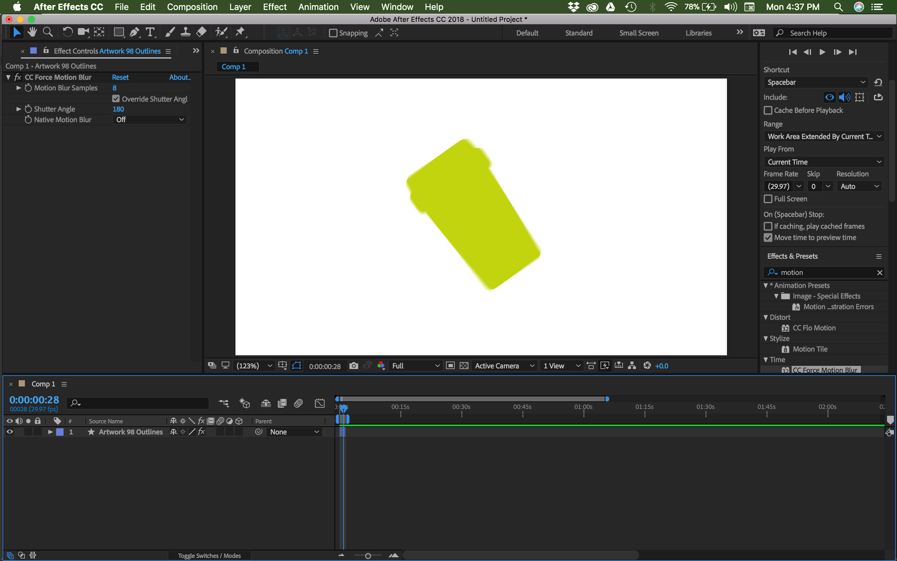 Bodymovin - My animations are exporting without capturing the