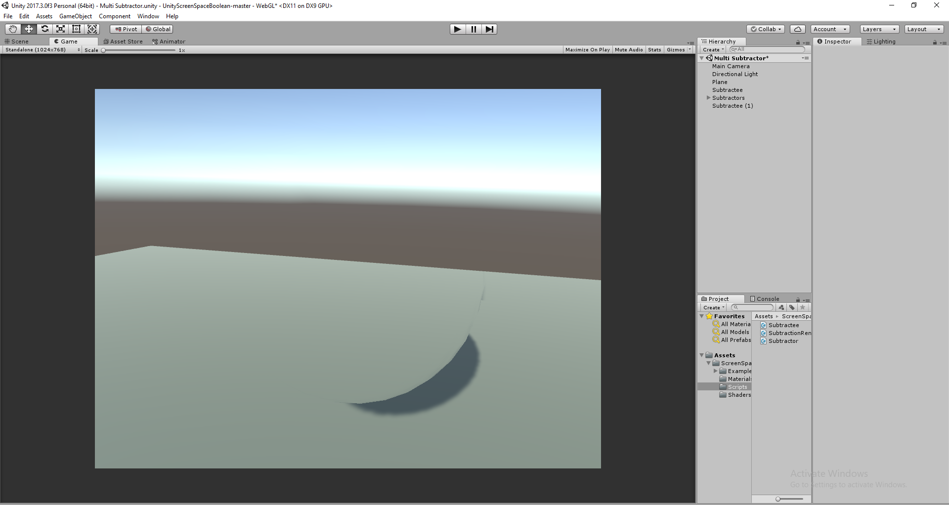 Issue in Unity WEbGL · Issue #2 · hecomi/UnityScreenSpaceBoolean