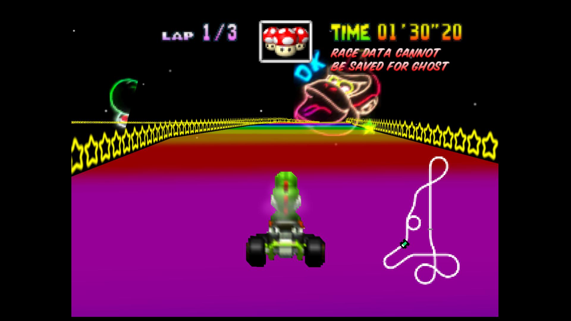 Mario Kart 64 Minor Graphic Glitches Update Issue 1756