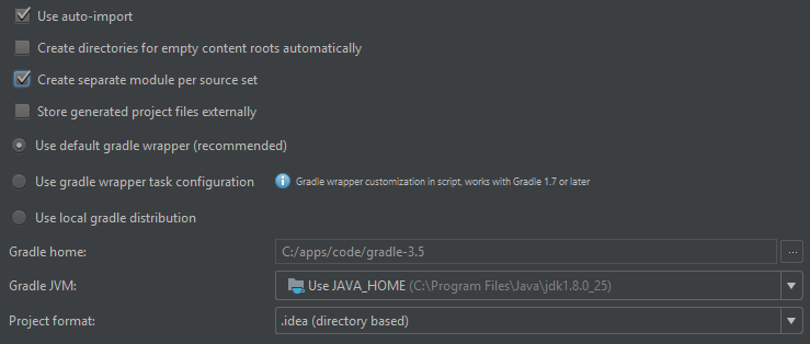 How to properly import gradle project to IntelliJ? · Issue