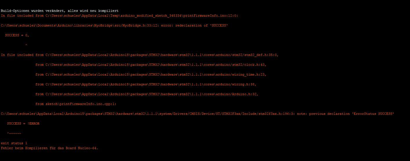 Get the MyoBridge Library to work on stm32duino IDE · Issue #12