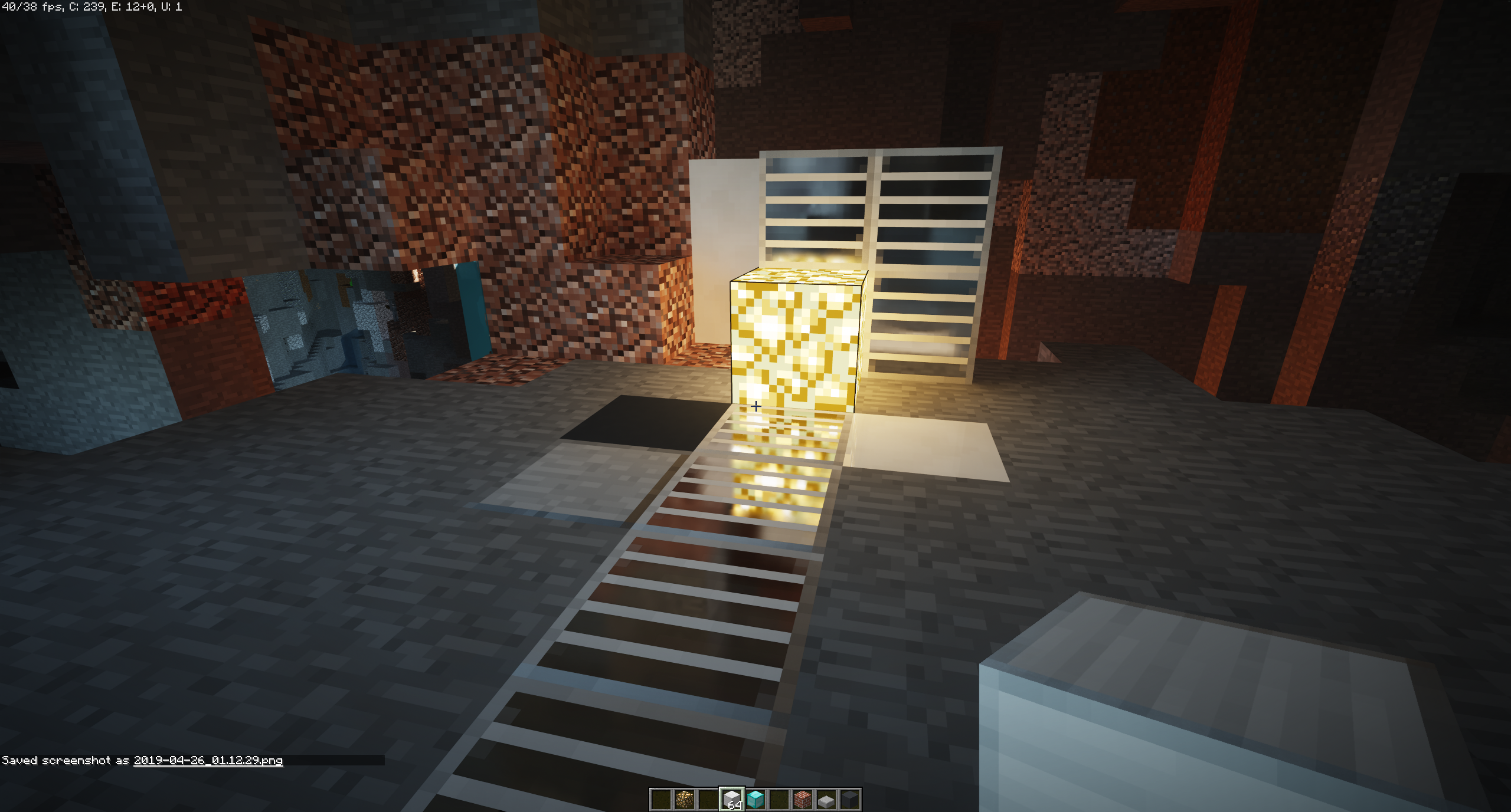 Iron Blocks have stripy lines when using SEUS PTGI E8 · Issue #8