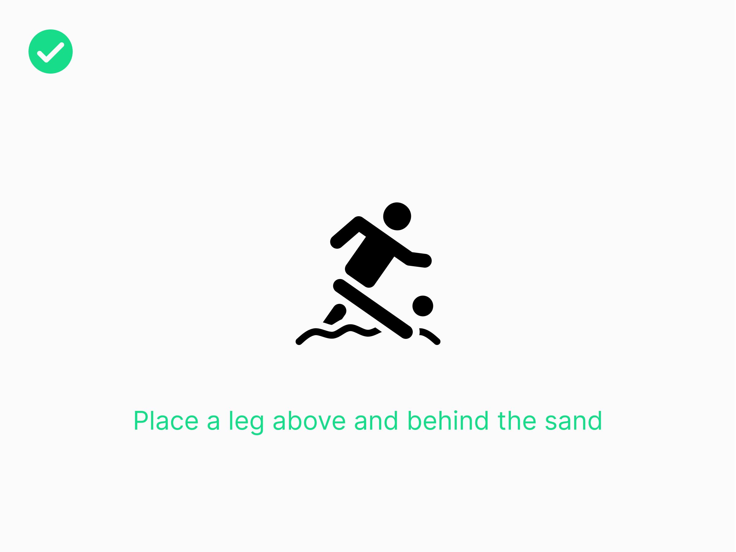 Beach Leg O