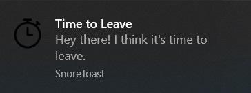 time-to-leave-notification