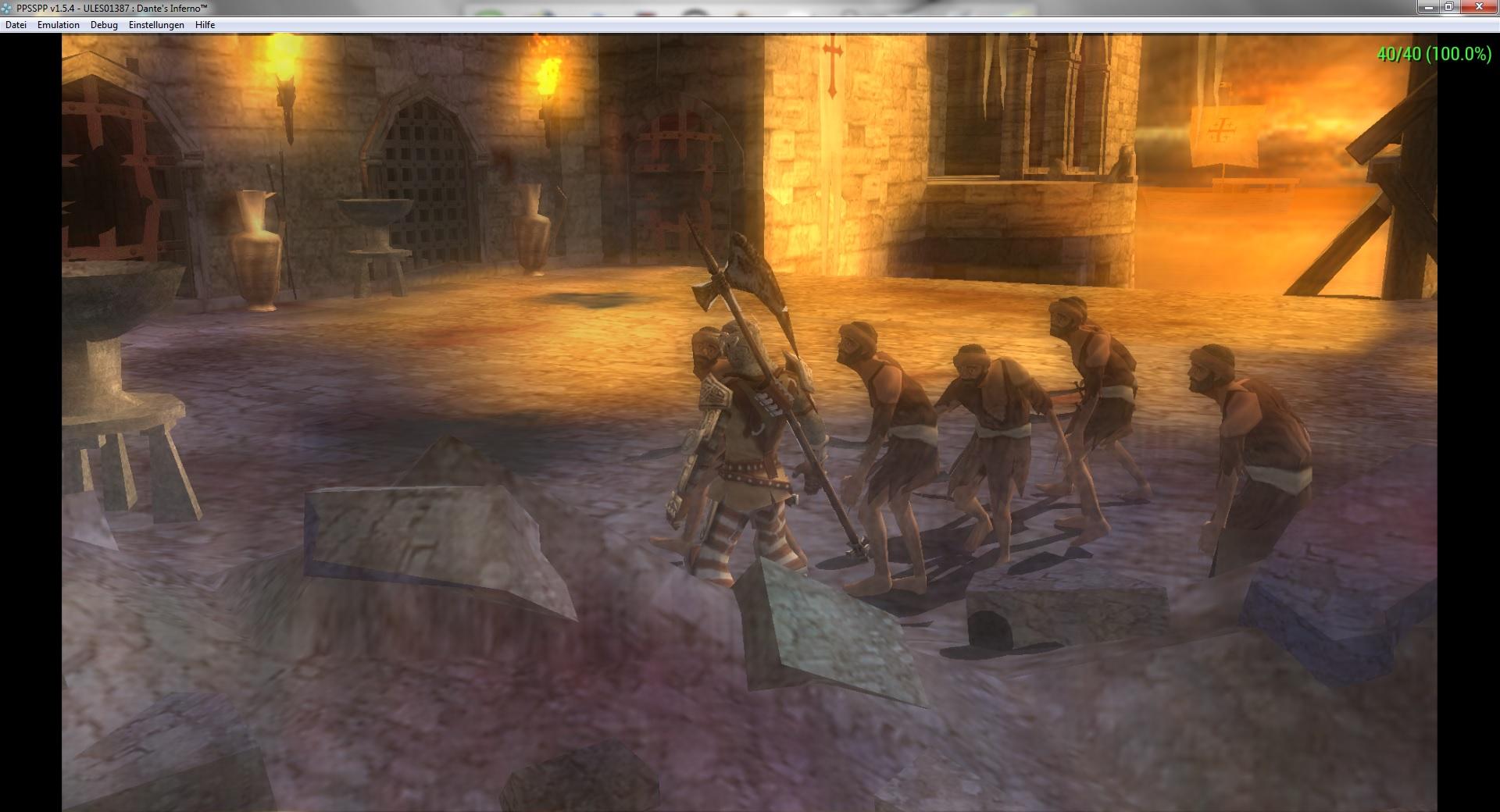 Dante's inferno small screen flicker · Issue #10006