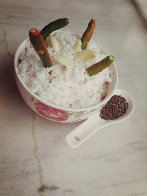 Sooji uttapam coconut