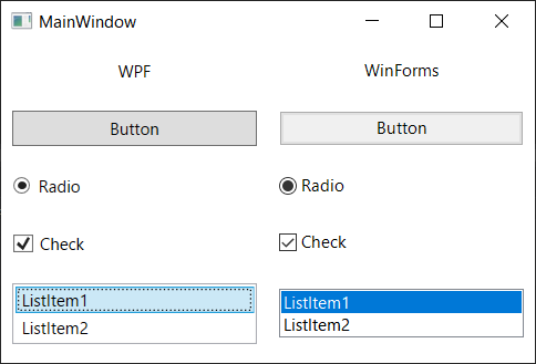Feature: new WPF style for Windows 10 · Issue #1485 · dotnet
