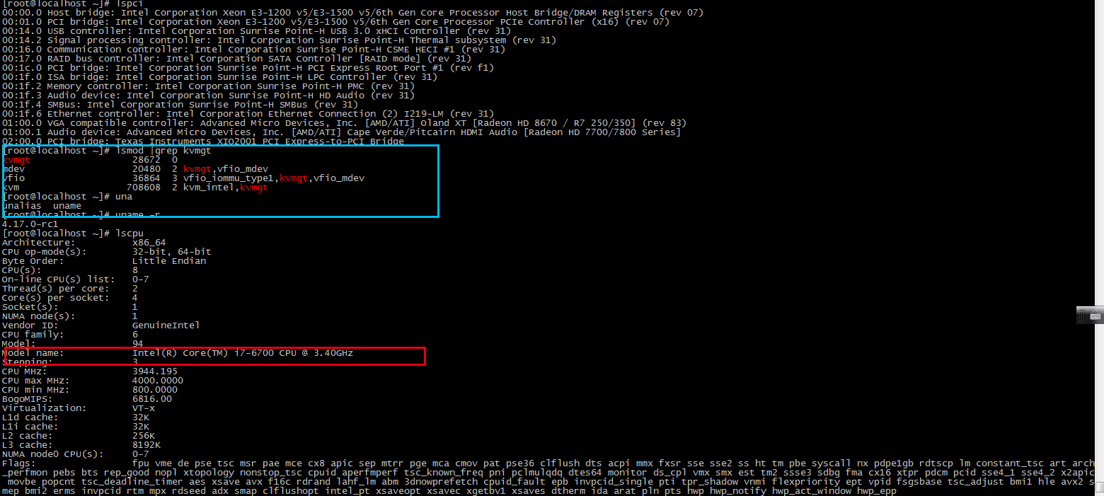 Dosn't work on rhel 7 5 with kernel 4 17 0-rc1 · Issue #39 · intel