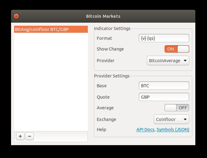 bitcoinmarkets api