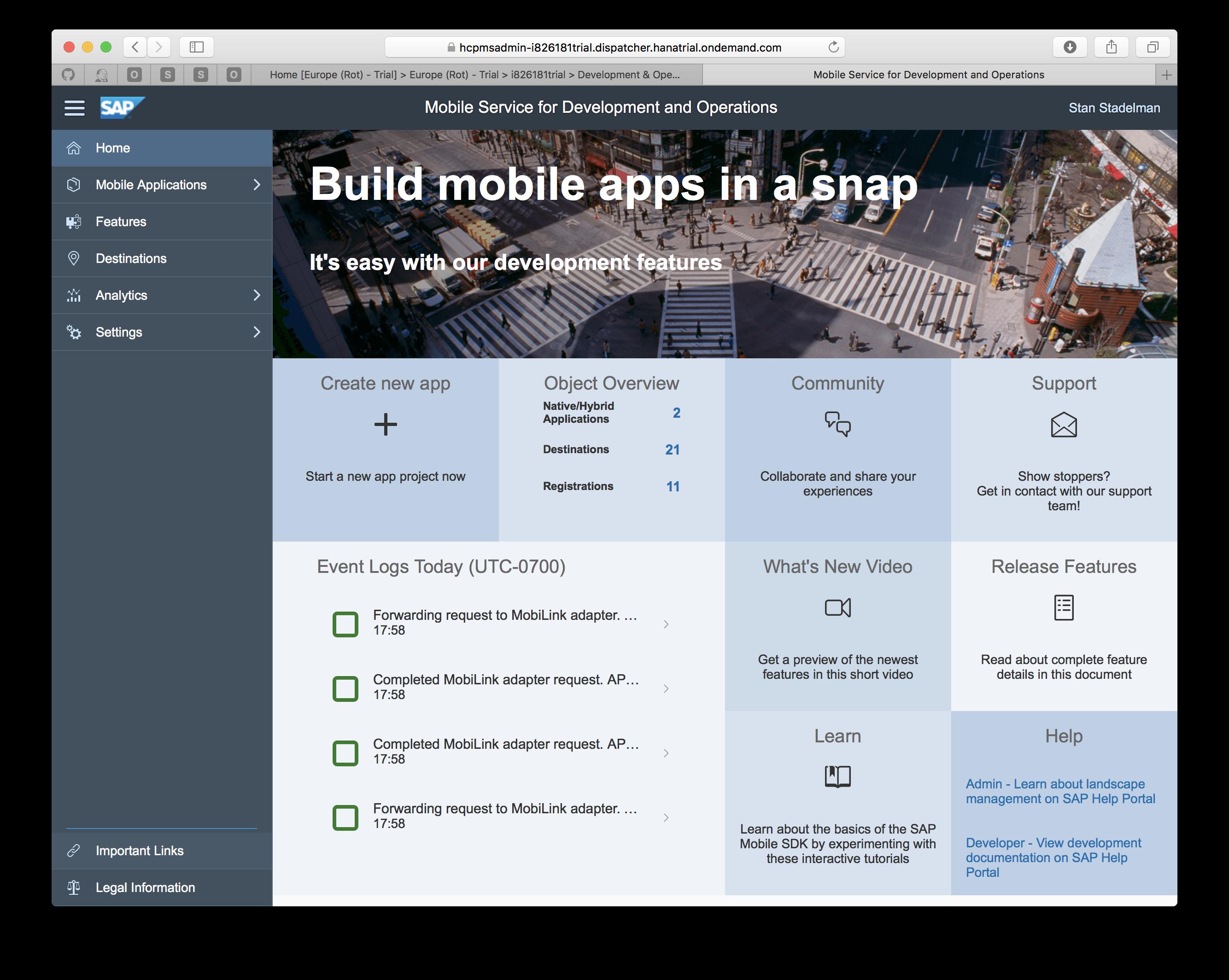 Create Mobile Application in SAP Cloud Platform mobile
