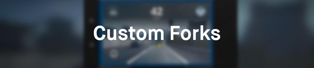 custom forks