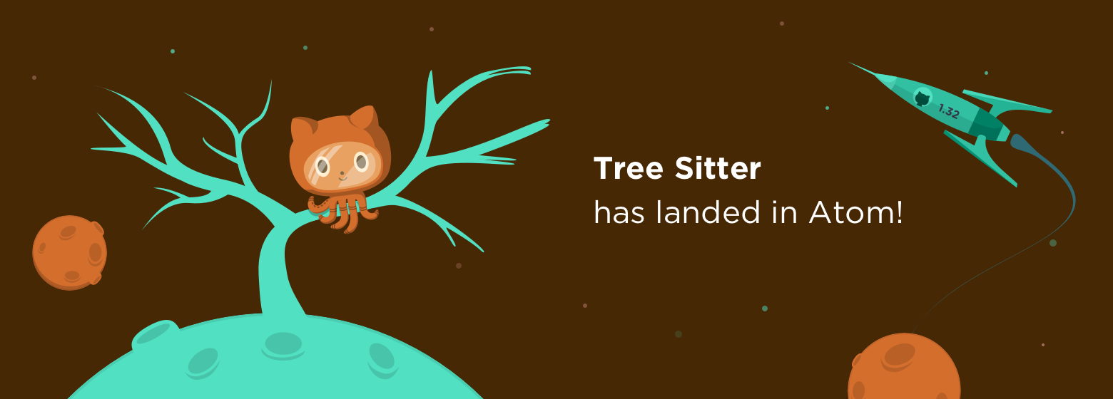 Tree sitter has landed in Atom