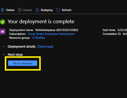 deploymentcompleted
