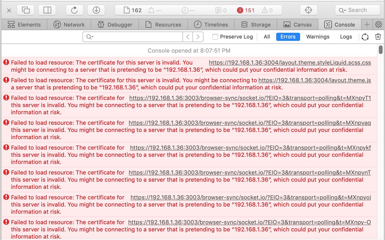 SSL · Issue #955 · Shopify/slate · GitHub